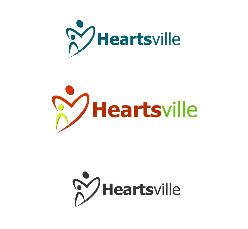 Logo Design by Private User - Entry No. 100 in the Logo Design Contest Unique Logo Design Wanted for Heartsville.