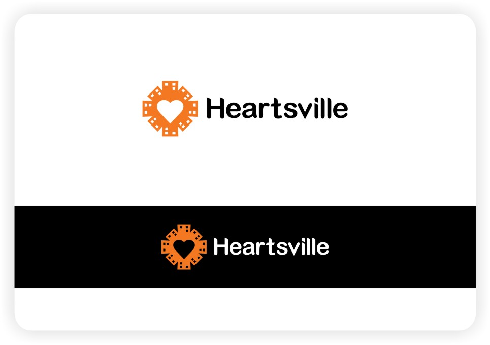 Logo Design by untung - Entry No. 101 in the Logo Design Contest Unique Logo Design Wanted for Heartsville.
