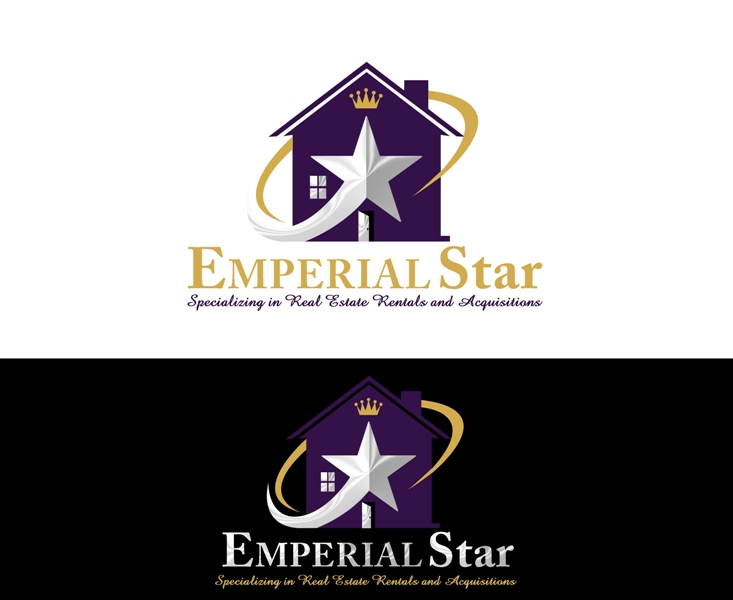 Logo Design by Juan_Kata - Entry No. 148 in the Logo Design Contest Emperial Star Logo Design.