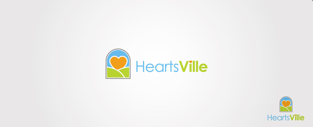 Logo Design by SERO - Entry No. 108 in the Logo Design Contest Unique Logo Design Wanted for Heartsville.