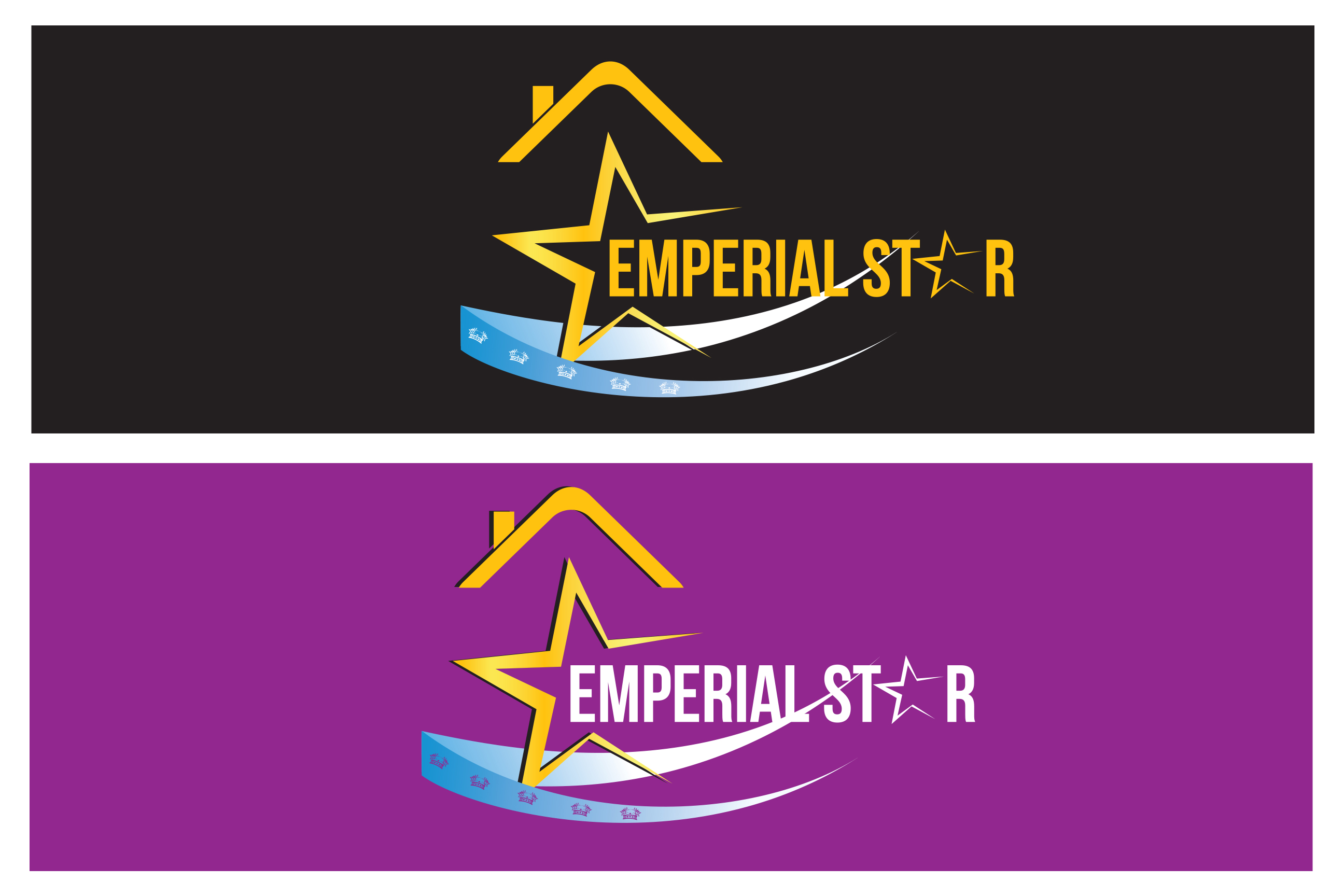 Logo Design by Leonard Anthony Alloso - Entry No. 158 in the Logo Design Contest Emperial Star Logo Design.