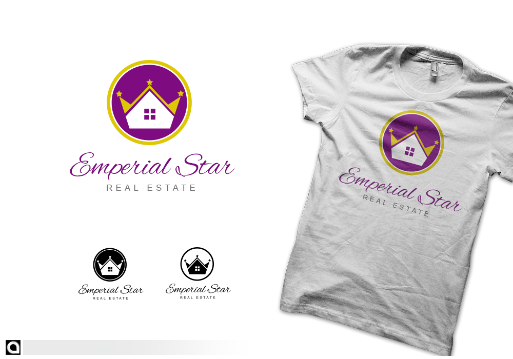 Logo Design by alocelja - Entry No. 160 in the Logo Design Contest Emperial Star Logo Design.