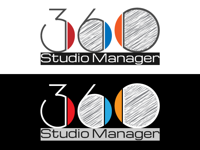 Logo Design by ronik.web - Entry No. 23 in the Logo Design Contest Unique Logo Design Wanted for Studio Manager 360.