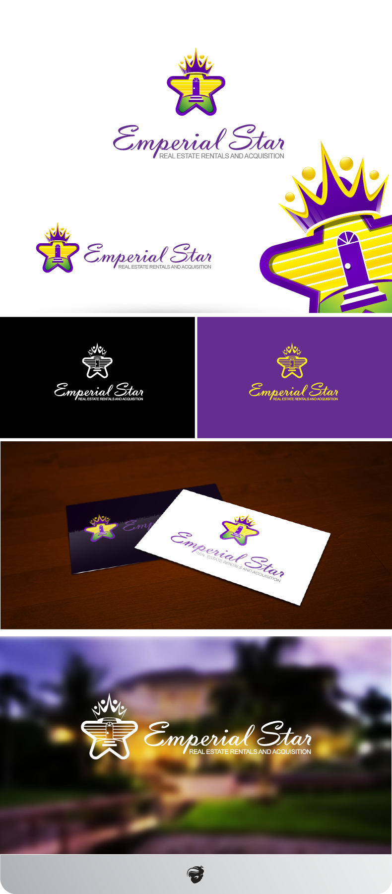 Logo Design by zesthar - Entry No. 165 in the Logo Design Contest Emperial Star Logo Design.