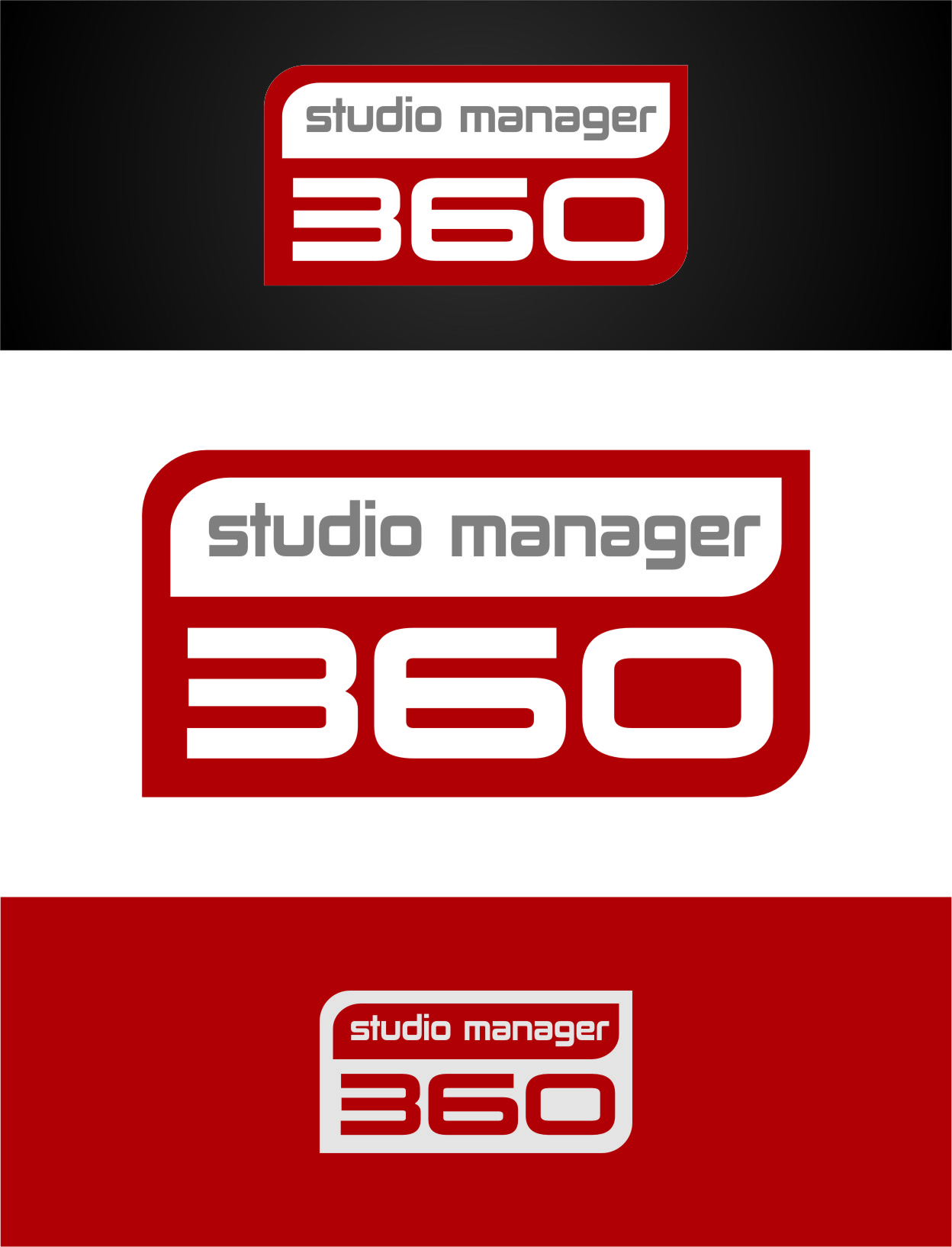 Logo Design by RasYa Muhammad Athaya - Entry No. 24 in the Logo Design Contest Unique Logo Design Wanted for Studio Manager 360.