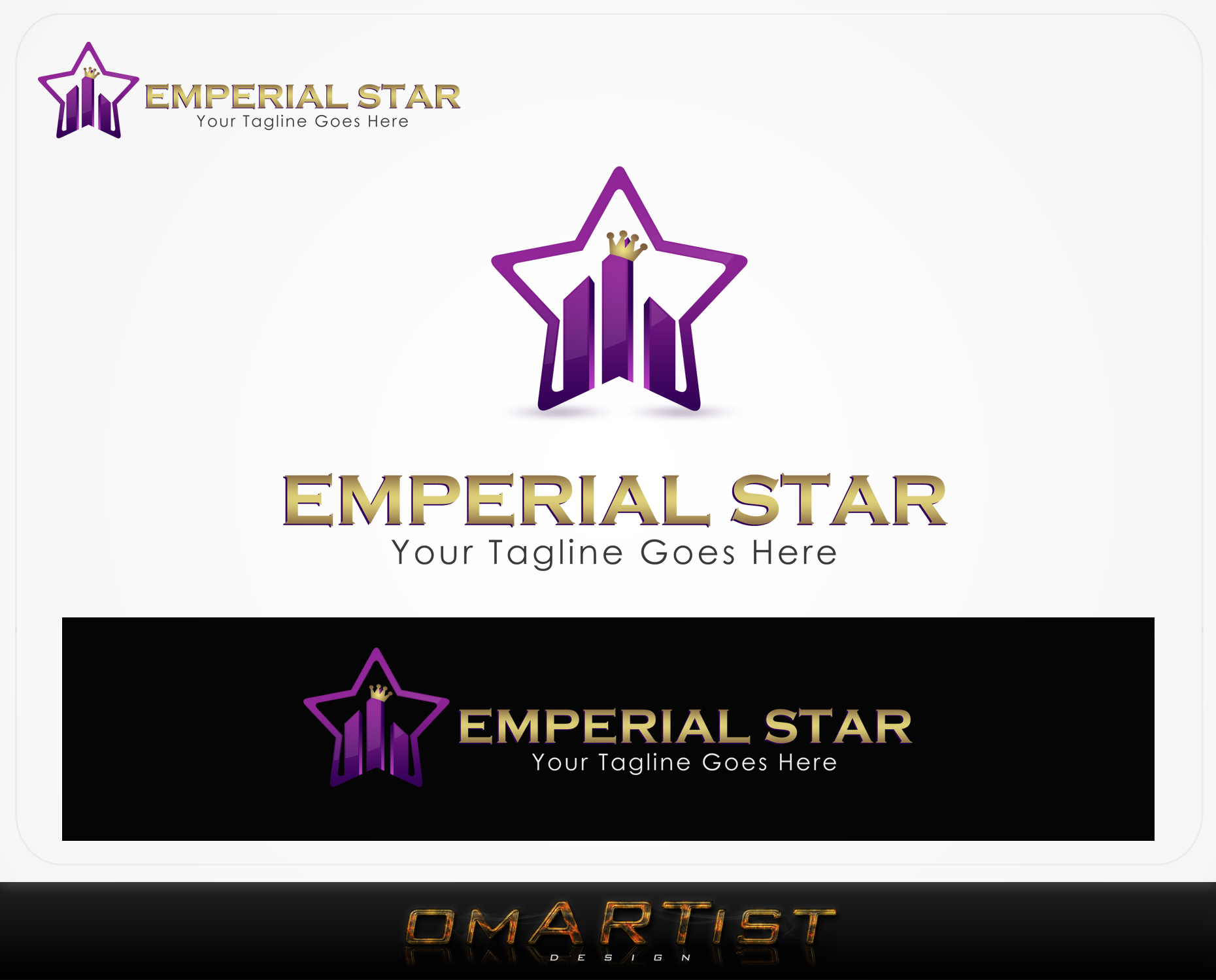 Logo Design by omARTist - Entry No. 167 in the Logo Design Contest Emperial Star Logo Design.