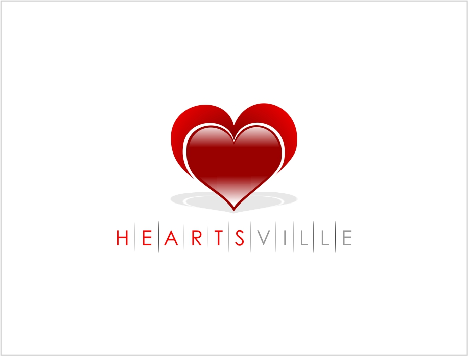 Logo Design by Private User - Entry No. 110 in the Logo Design Contest Unique Logo Design Wanted for Heartsville.