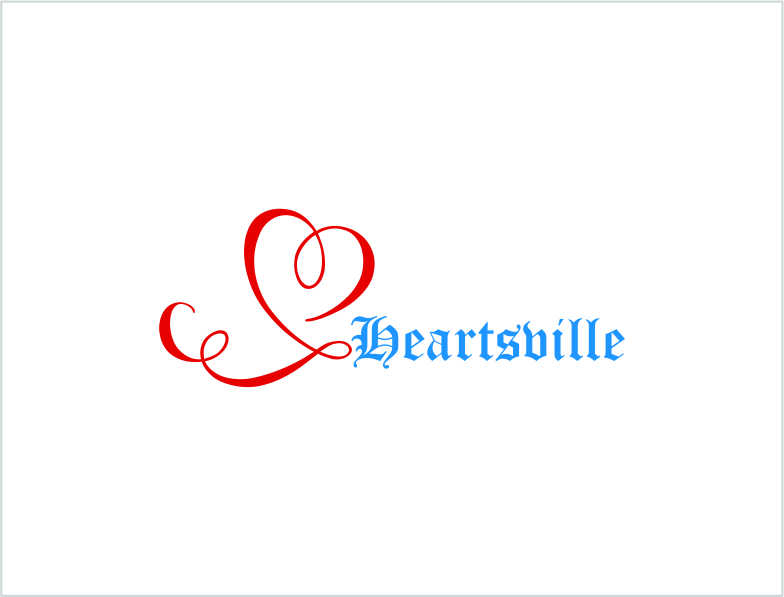 Logo Design by Private User - Entry No. 114 in the Logo Design Contest Unique Logo Design Wanted for Heartsville.