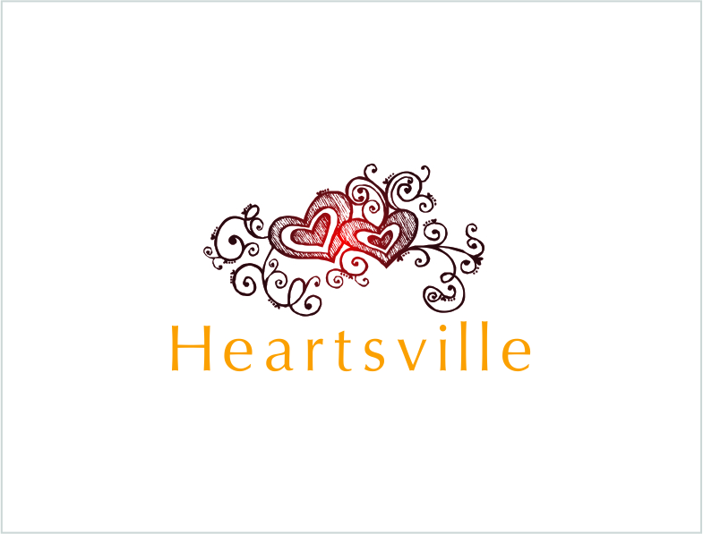 Logo Design by Private User - Entry No. 116 in the Logo Design Contest Unique Logo Design Wanted for Heartsville.