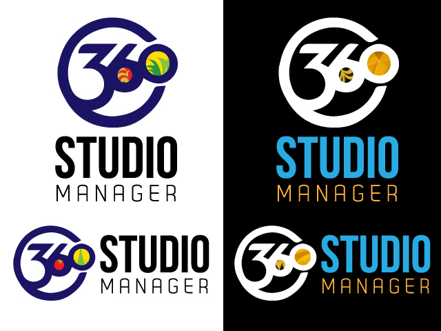 Logo Design by ronik.web - Entry No. 46 in the Logo Design Contest Unique Logo Design Wanted for Studio Manager 360.