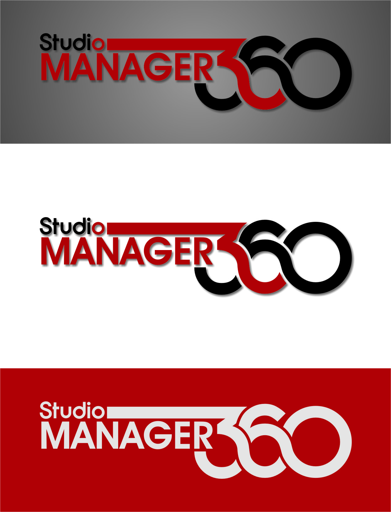 Logo Design by Ngepet_art - Entry No. 49 in the Logo Design Contest Unique Logo Design Wanted for Studio Manager 360.