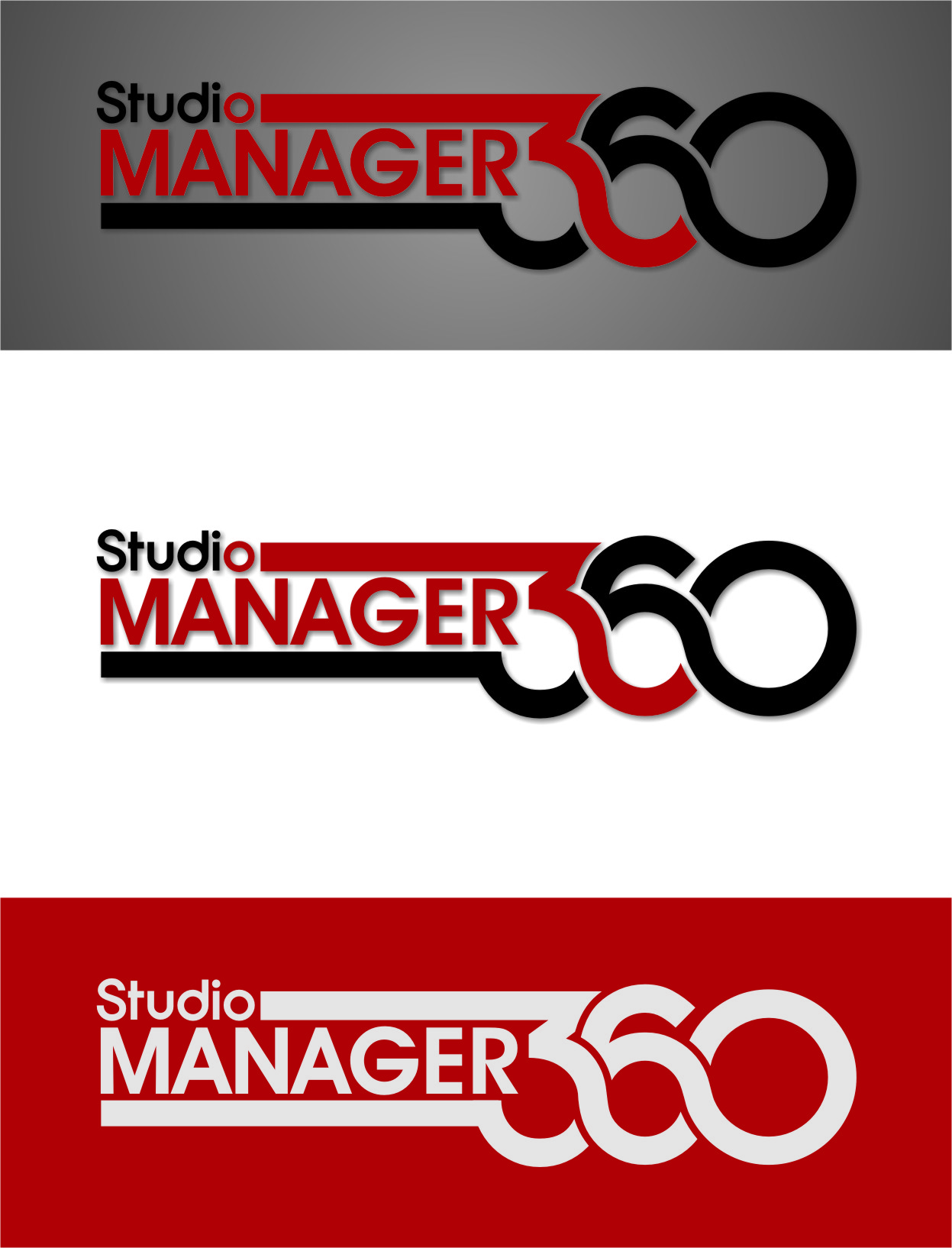 Logo Design by Ngepet_art - Entry No. 53 in the Logo Design Contest Unique Logo Design Wanted for Studio Manager 360.