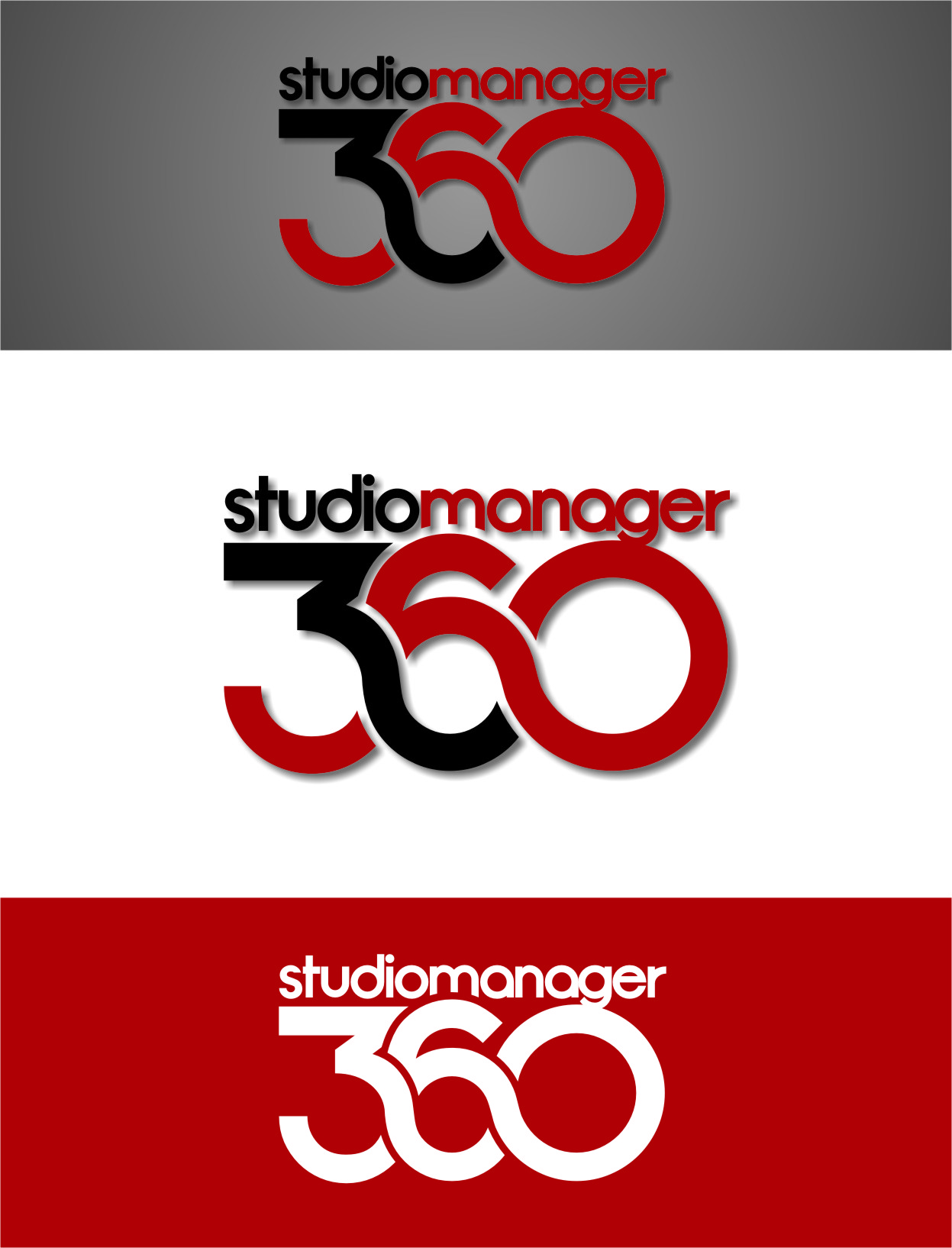 Logo Design by RoSyid Rono-Rene On Java - Entry No. 58 in the Logo Design Contest Unique Logo Design Wanted for Studio Manager 360.
