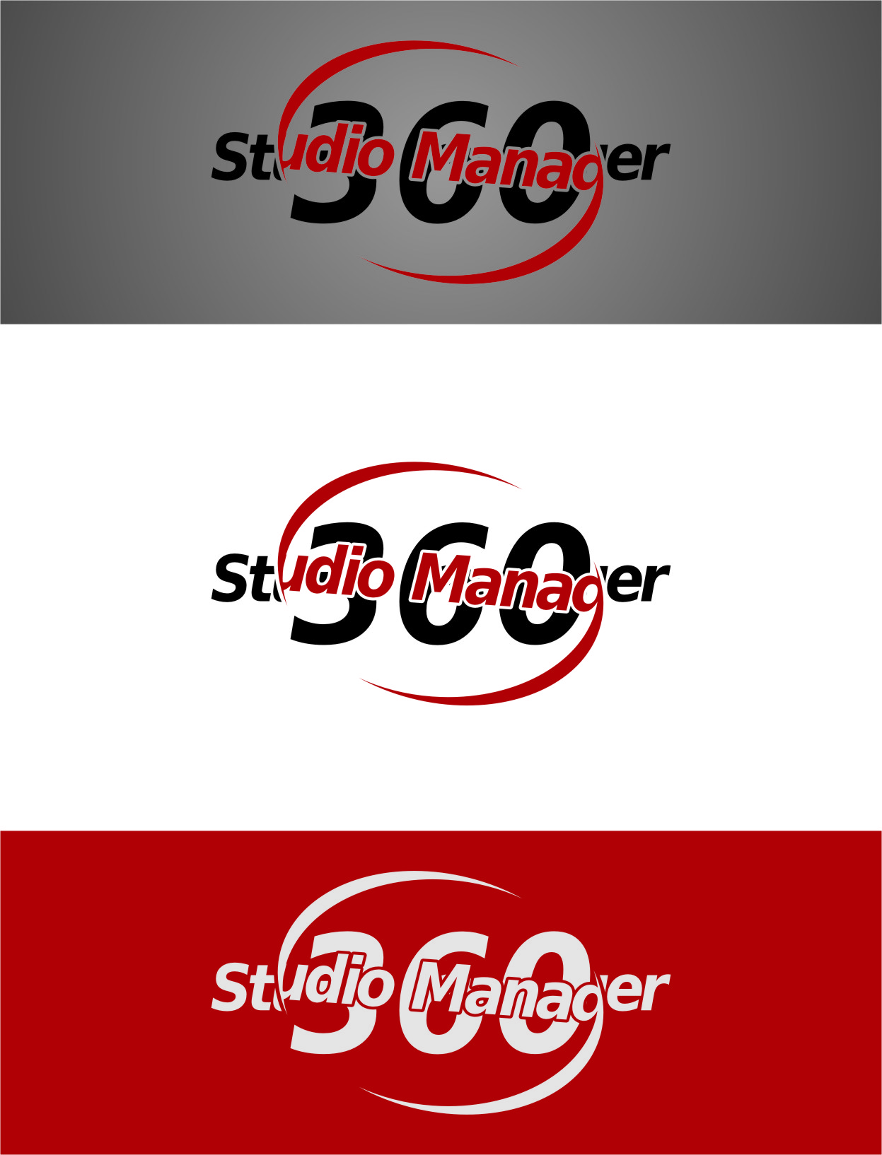 Logo Design by RasYa Muhammad Athaya - Entry No. 62 in the Logo Design Contest Unique Logo Design Wanted for Studio Manager 360.