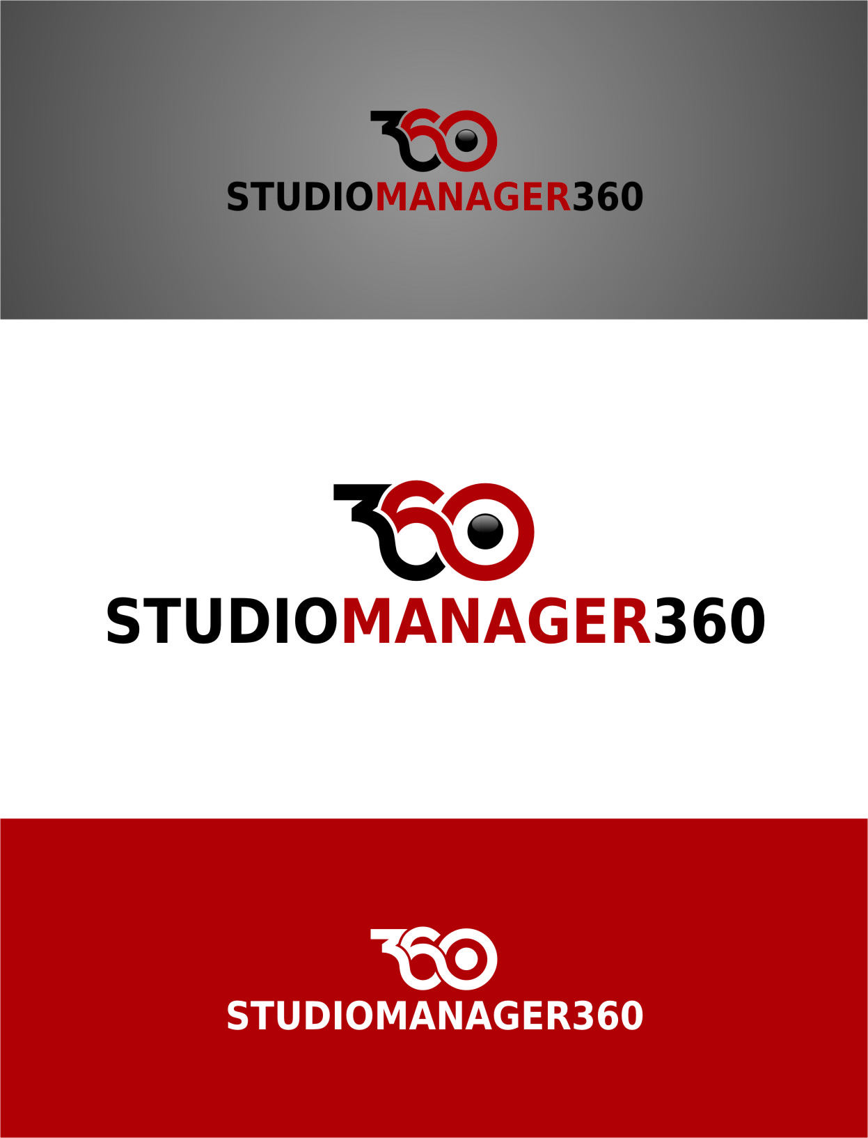 Logo Design by RasYa Muhammad Athaya - Entry No. 63 in the Logo Design Contest Unique Logo Design Wanted for Studio Manager 360.