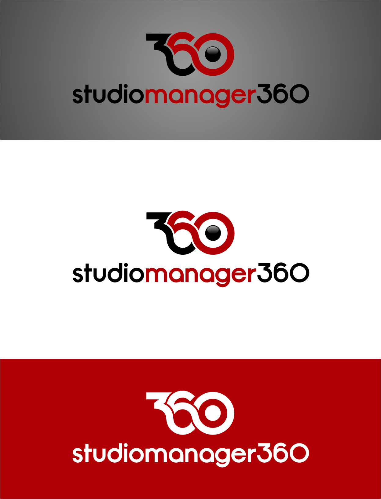 Logo Design by Ngepet_art - Entry No. 64 in the Logo Design Contest Unique Logo Design Wanted for Studio Manager 360.