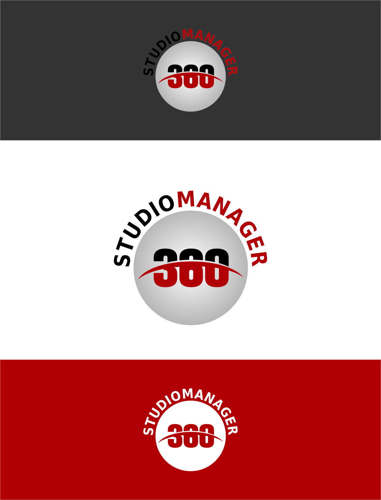 Logo Design by RasYa Muhammad Athaya - Entry No. 65 in the Logo Design Contest Unique Logo Design Wanted for Studio Manager 360.