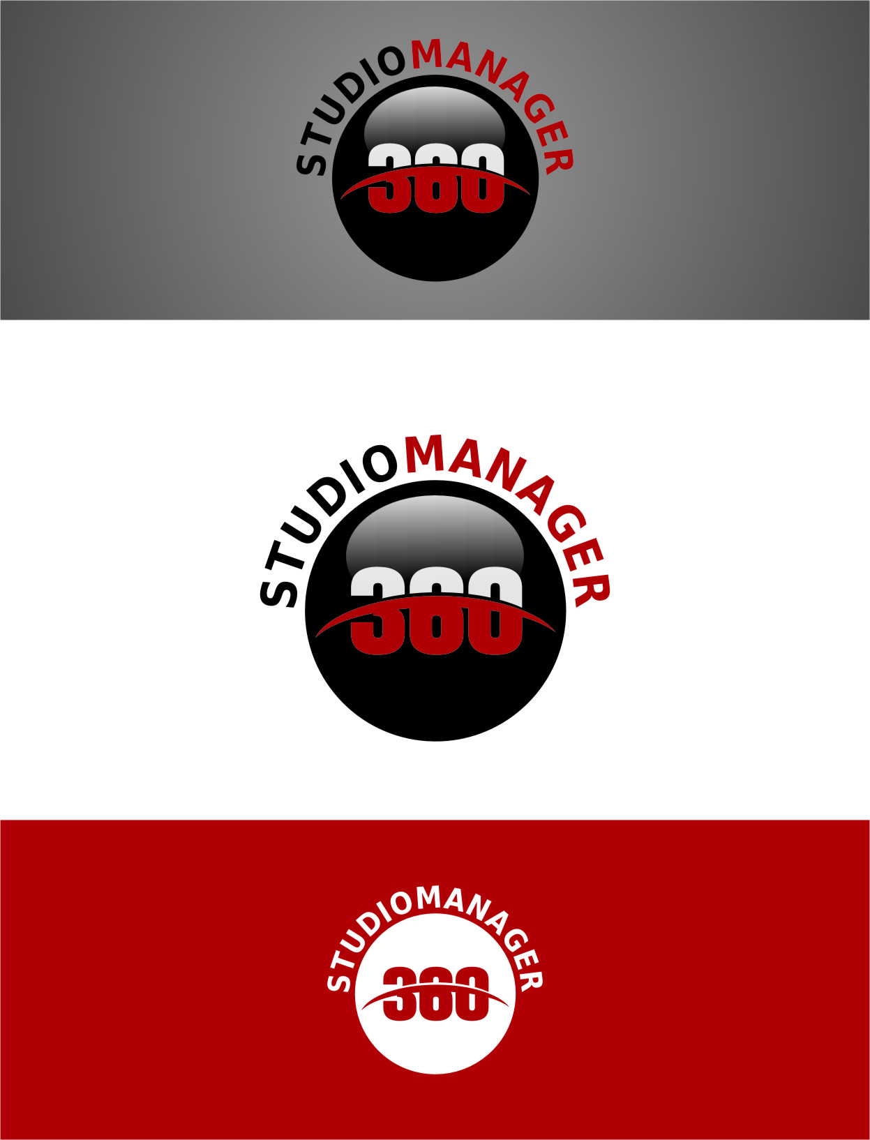 Logo Design by Ngepet_art - Entry No. 66 in the Logo Design Contest Unique Logo Design Wanted for Studio Manager 360.