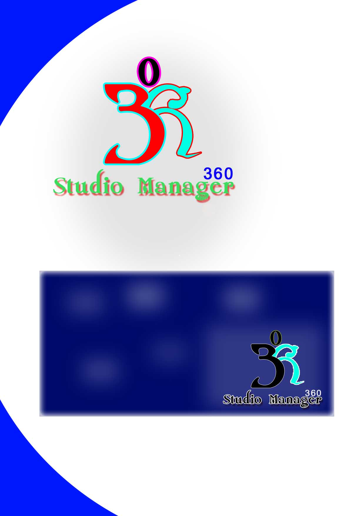 Logo Design by faza-bejo - Entry No. 77 in the Logo Design Contest Unique Logo Design Wanted for Studio Manager 360.