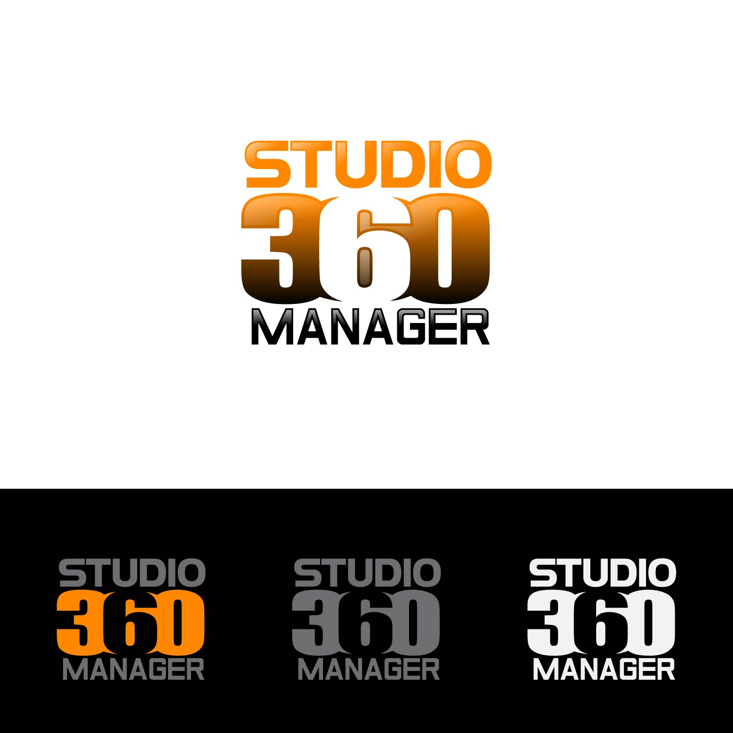 Logo Design by lagalag - Entry No. 93 in the Logo Design Contest Unique Logo Design Wanted for Studio Manager 360.
