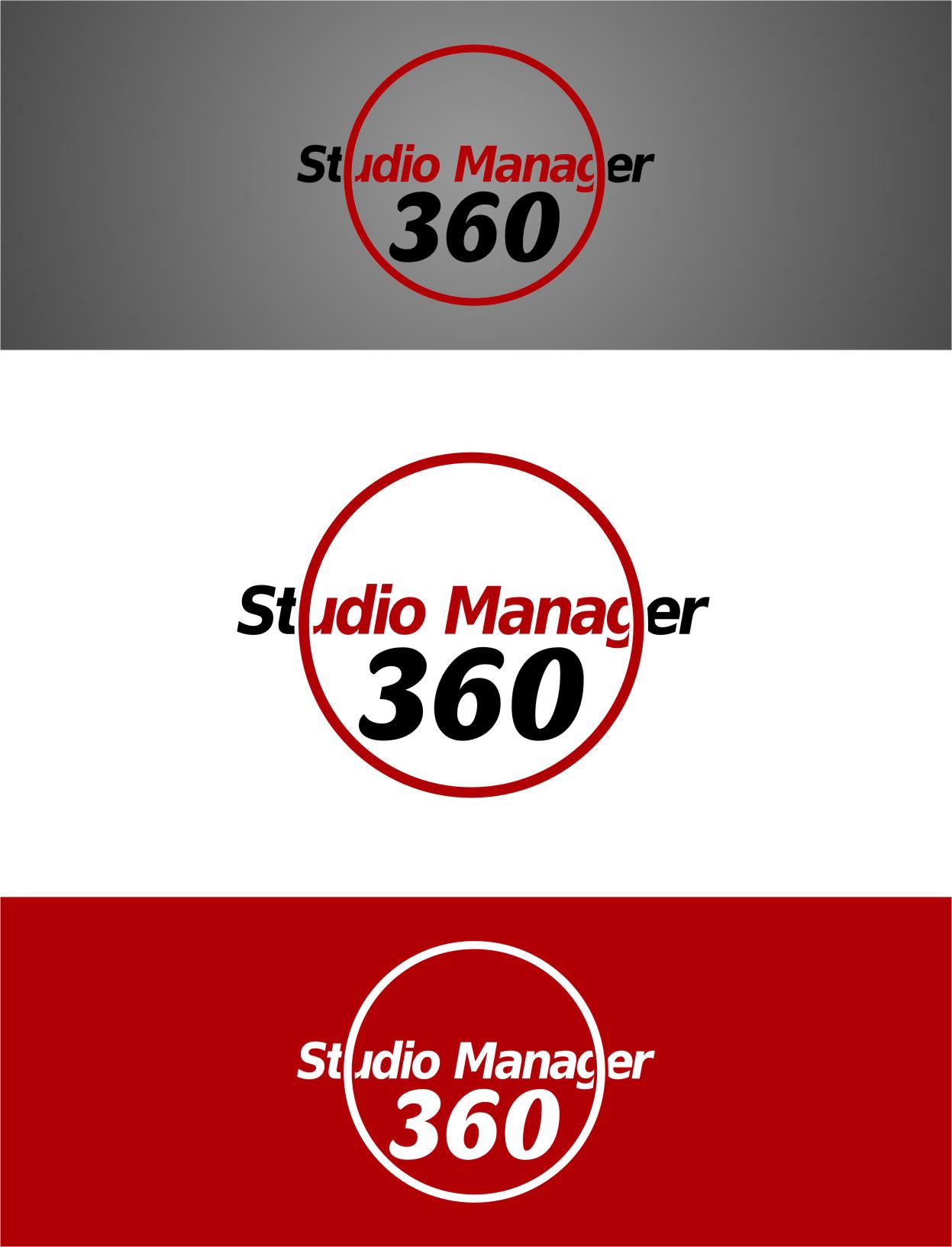 Logo Design by RasYa Muhammad Athaya - Entry No. 101 in the Logo Design Contest Unique Logo Design Wanted for Studio Manager 360.