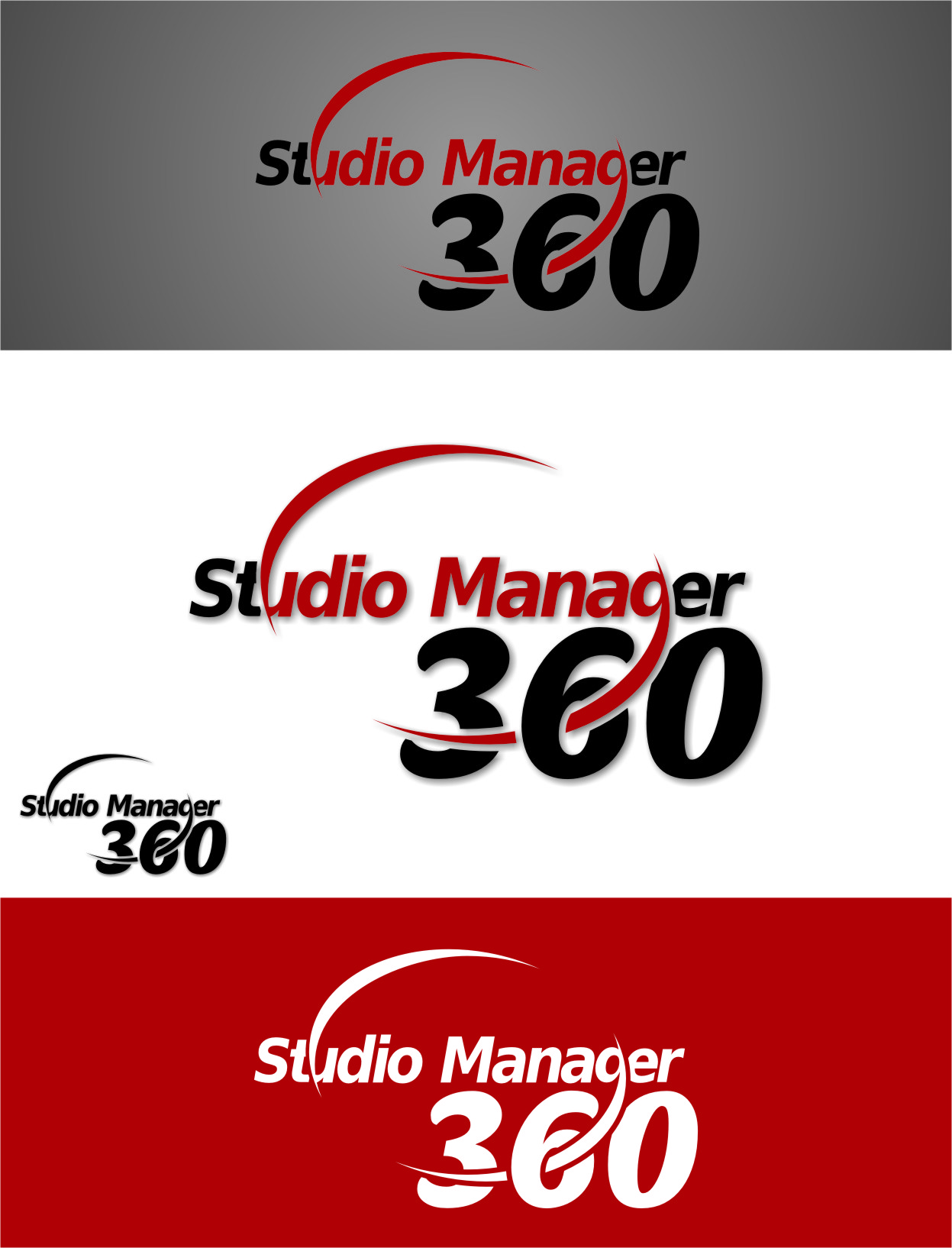 Logo Design by Ngepet_art - Entry No. 102 in the Logo Design Contest Unique Logo Design Wanted for Studio Manager 360.