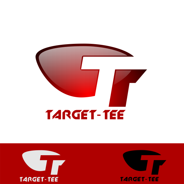 Logo Design by Rudy - Entry No. 26 in the Logo Design Contest Imaginative Logo Design for TARGET-TEE.