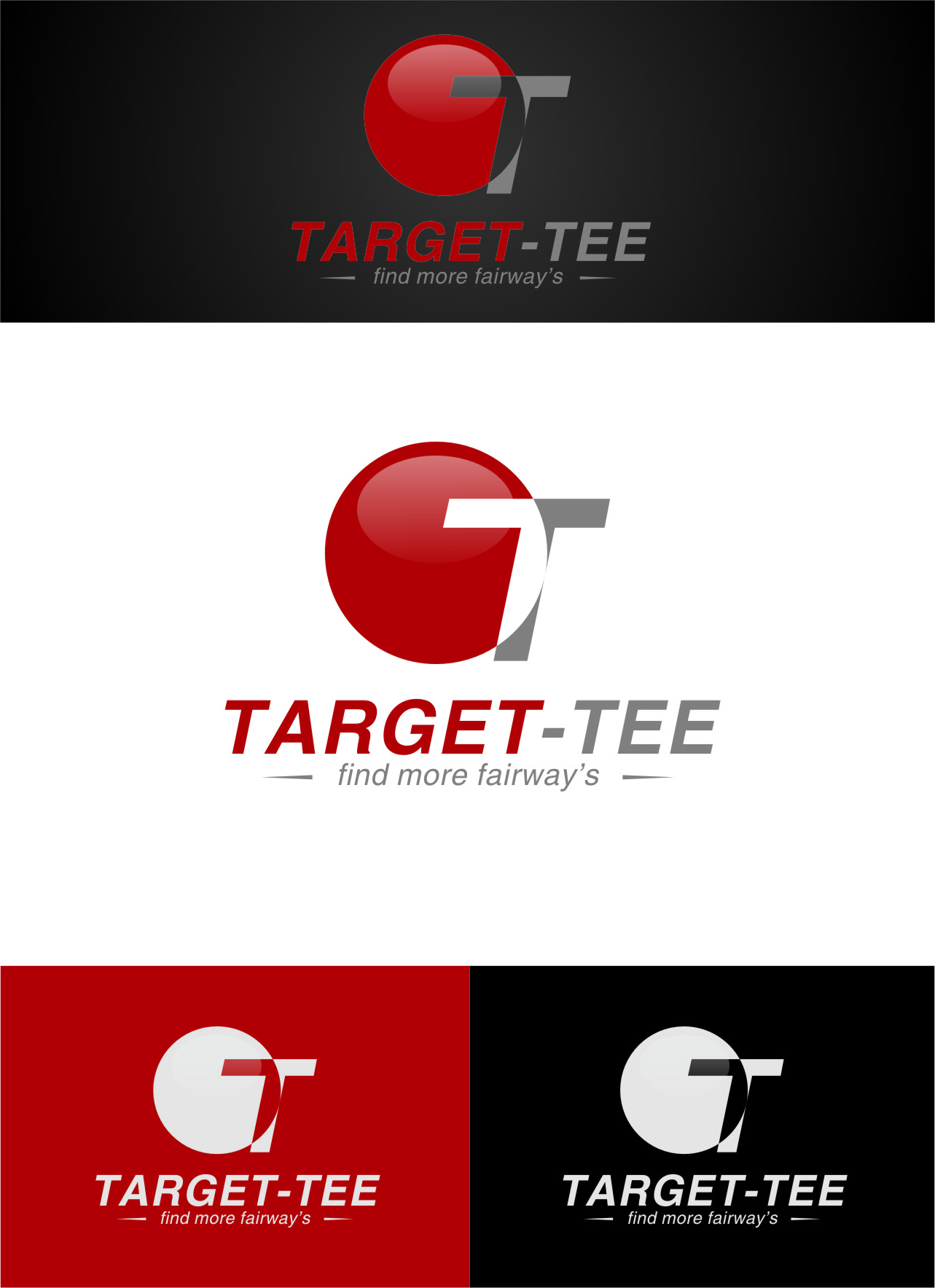 Logo Design by RasYa Muhammad Athaya - Entry No. 30 in the Logo Design Contest Imaginative Logo Design for TARGET-TEE.