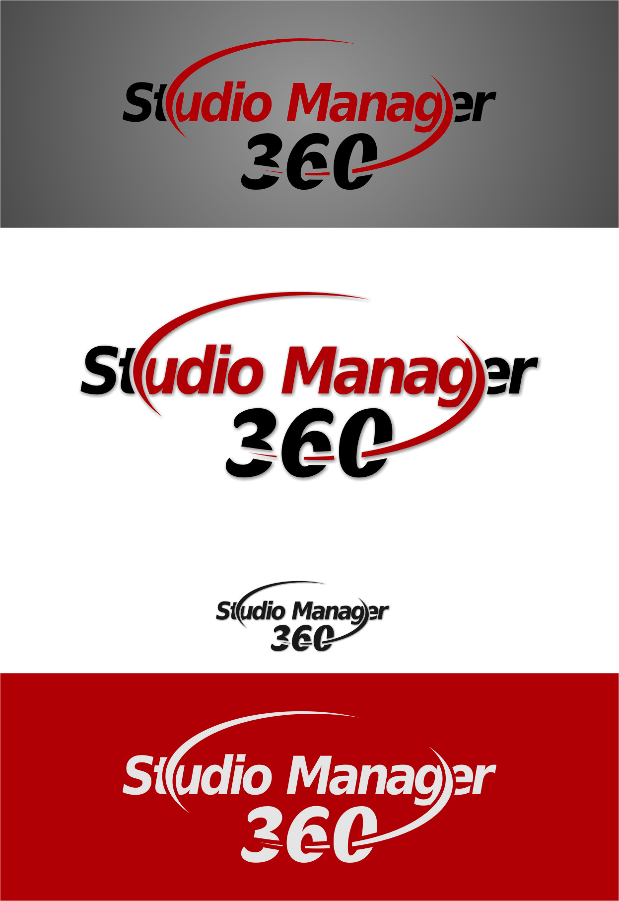 Logo Design by RasYa Muhammad Athaya - Entry No. 107 in the Logo Design Contest Unique Logo Design Wanted for Studio Manager 360.