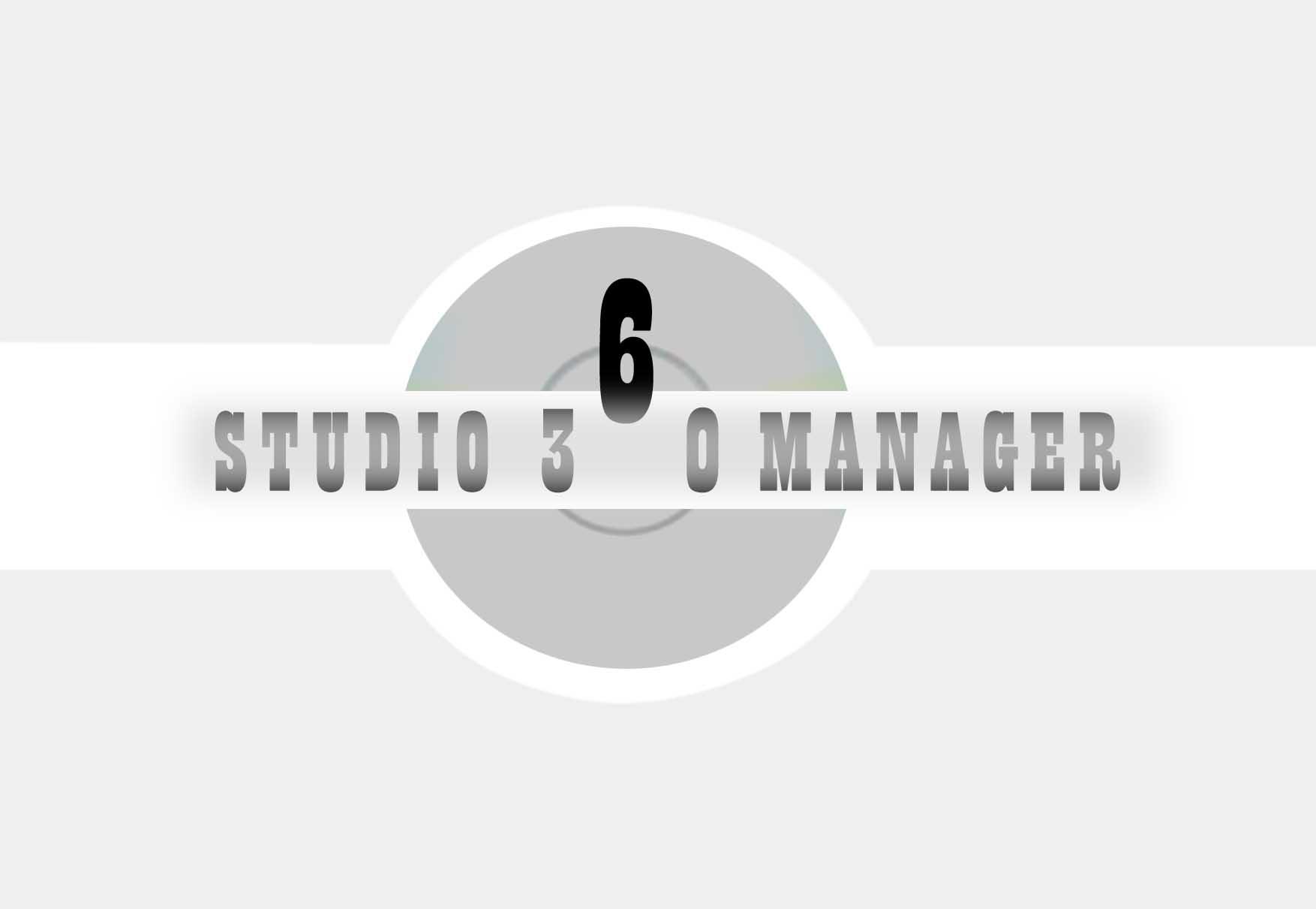Logo Design by faza-bejo - Entry No. 122 in the Logo Design Contest Unique Logo Design Wanted for Studio Manager 360.