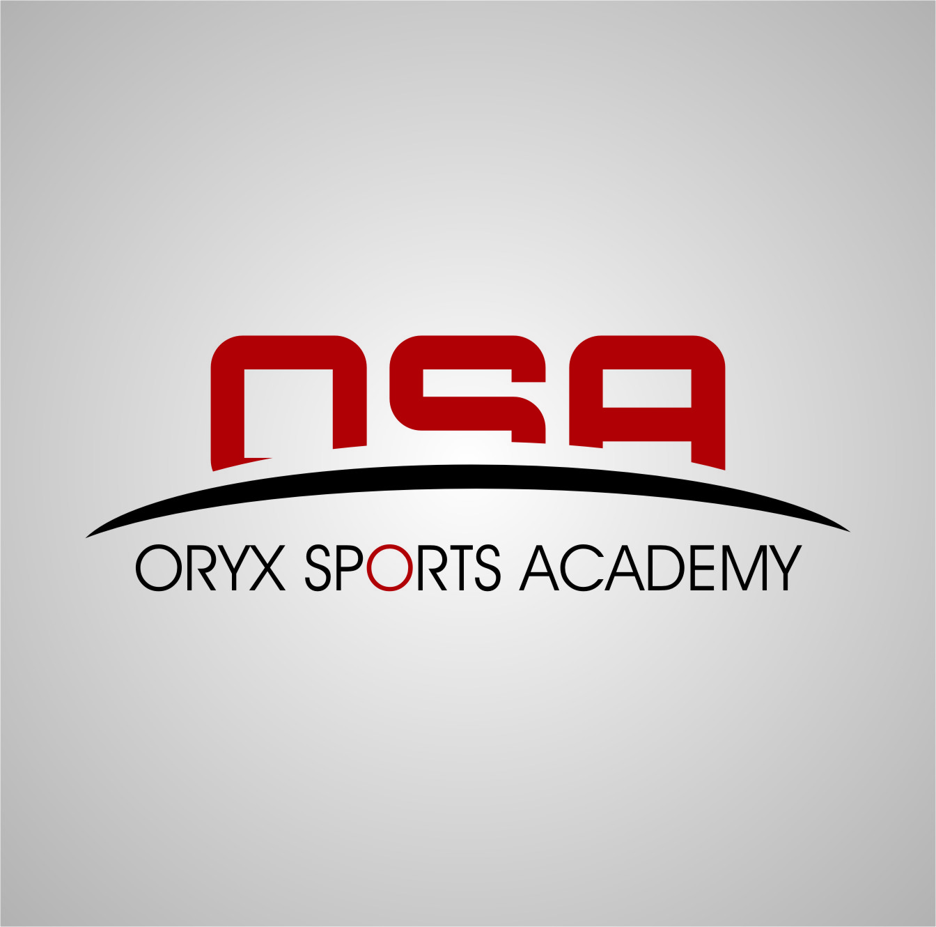 Logo Design by RasYa Muhammad Athaya - Entry No. 35 in the Logo Design Contest New Logo Design for Oryx Sports Academy.
