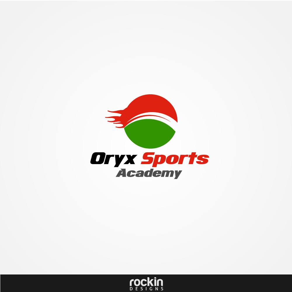 Logo Design by rockin - Entry No. 51 in the Logo Design Contest New Logo Design for Oryx Sports Academy.
