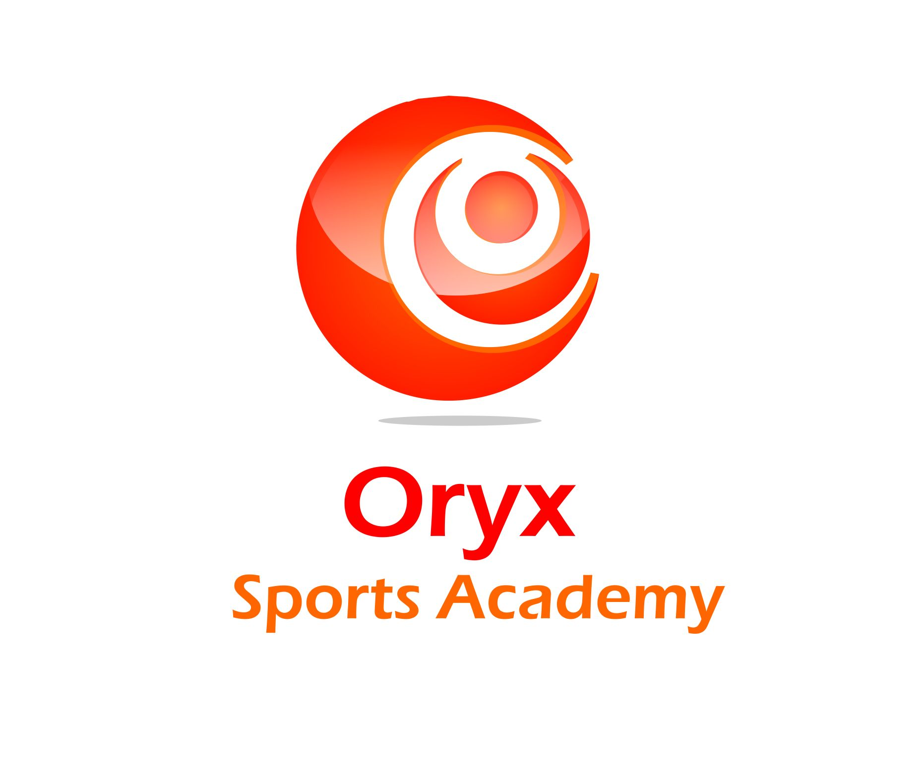 Logo Design by Choirul Jcd - Entry No. 56 in the Logo Design Contest New Logo Design for Oryx Sports Academy.