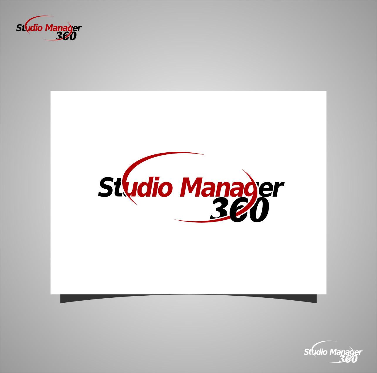 Logo Design by Ngepet_art - Entry No. 164 in the Logo Design Contest Unique Logo Design Wanted for Studio Manager 360.