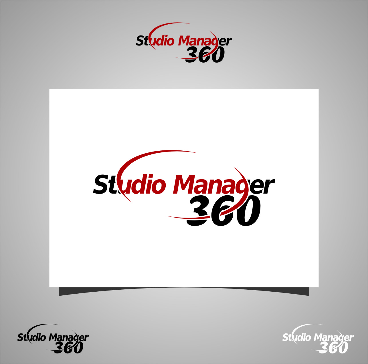 Logo Design by RoSyid Rono-Rene On Java - Entry No. 170 in the Logo Design Contest Unique Logo Design Wanted for Studio Manager 360.