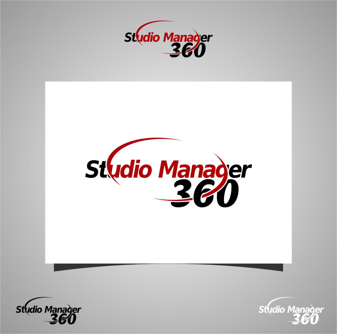 Logo Design by RasYa Muhammad Athaya - Entry No. 170 in the Logo Design Contest Unique Logo Design Wanted for Studio Manager 360.