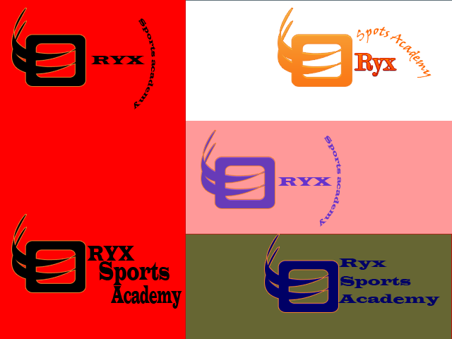Logo Design by Laila Tariq - Entry No. 81 in the Logo Design Contest New Logo Design for Oryx Sports Academy.