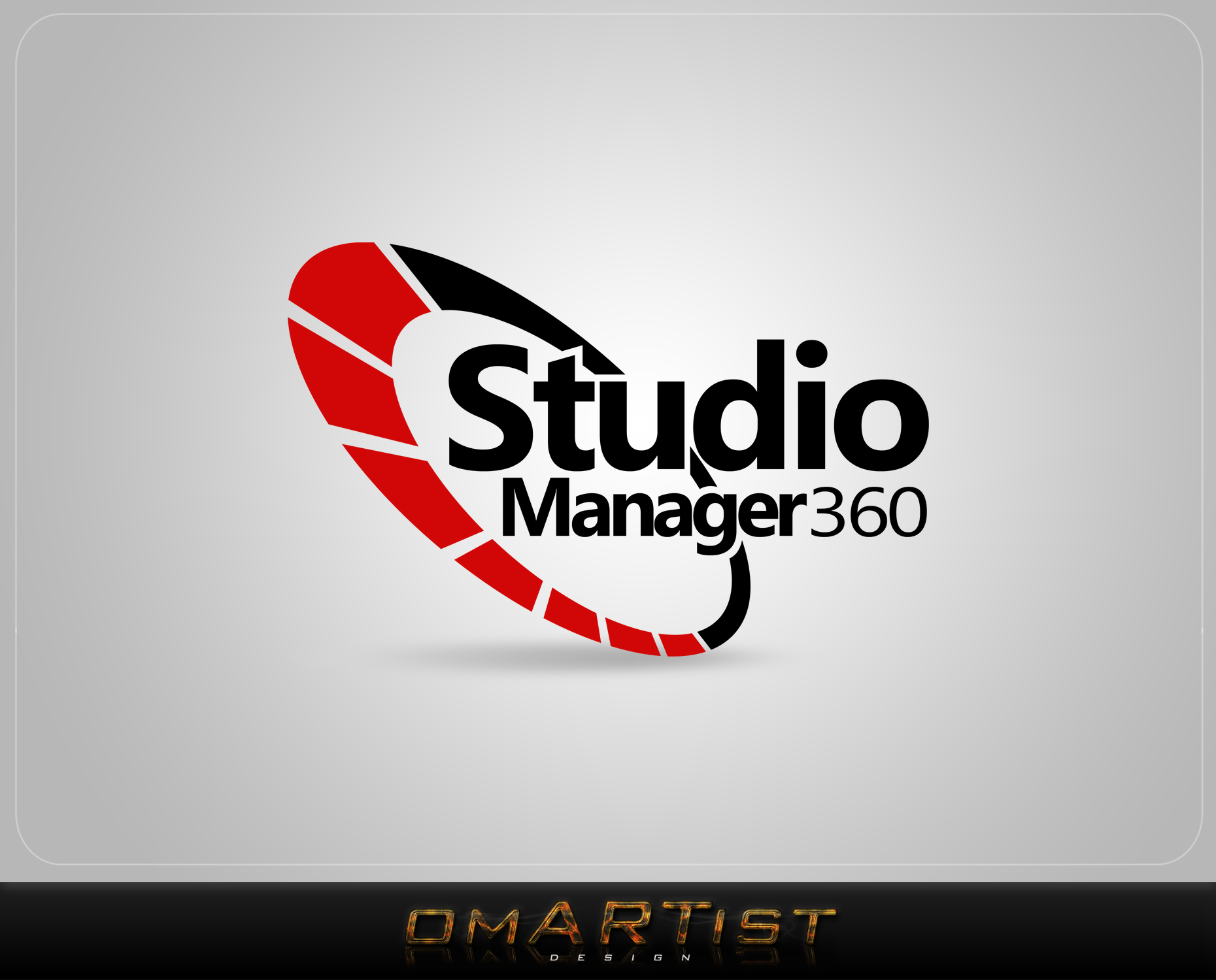 Logo Design by omARTist - Entry No. 174 in the Logo Design Contest Unique Logo Design Wanted for Studio Manager 360.