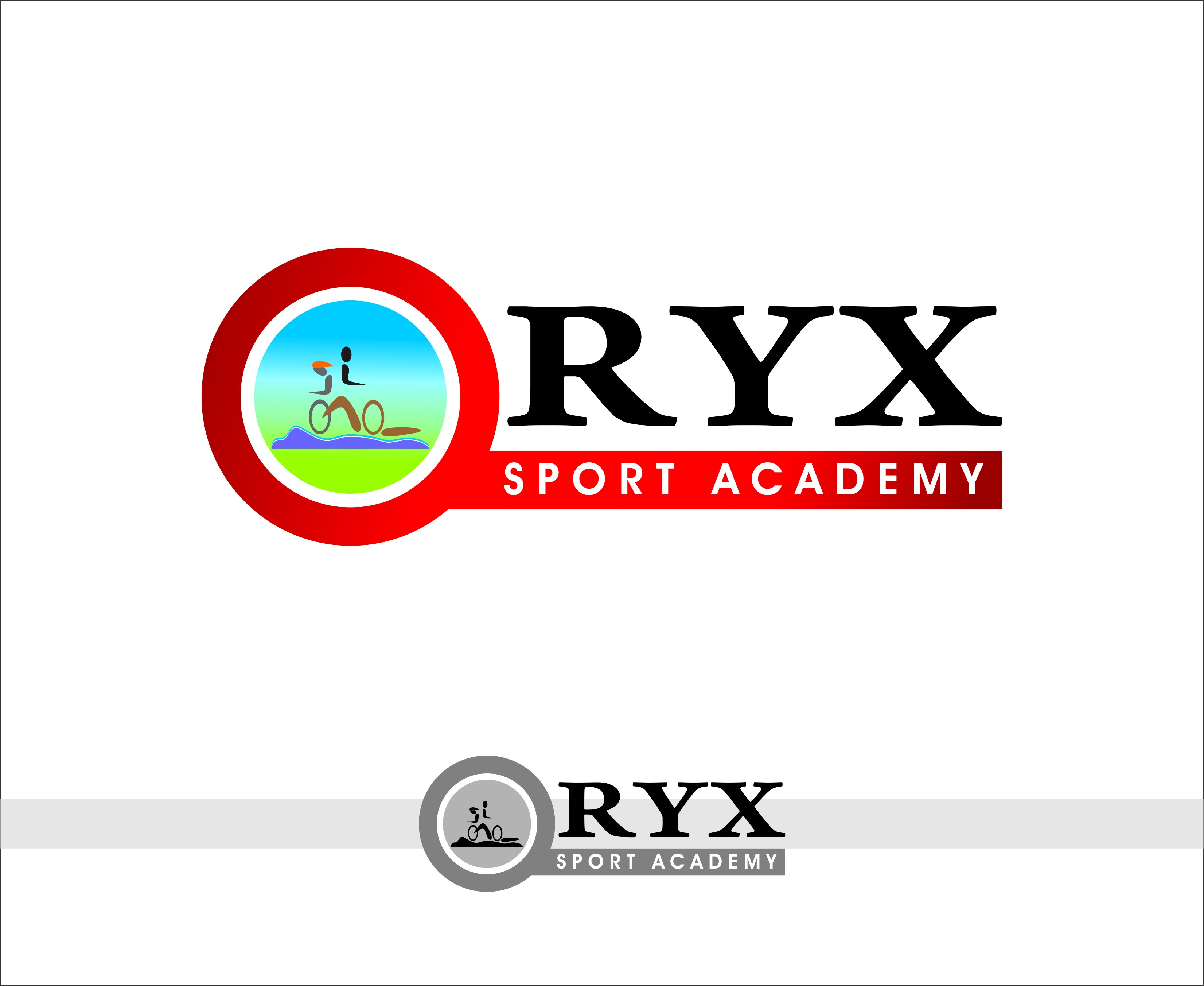 Logo Design by Mhon_Rose - Entry No. 87 in the Logo Design Contest New Logo Design for Oryx Sports Academy.