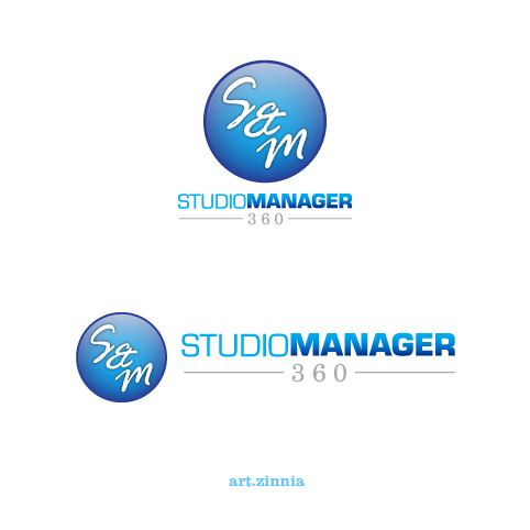 Logo Design by Puspita Wahyuni - Entry No. 176 in the Logo Design Contest Unique Logo Design Wanted for Studio Manager 360.