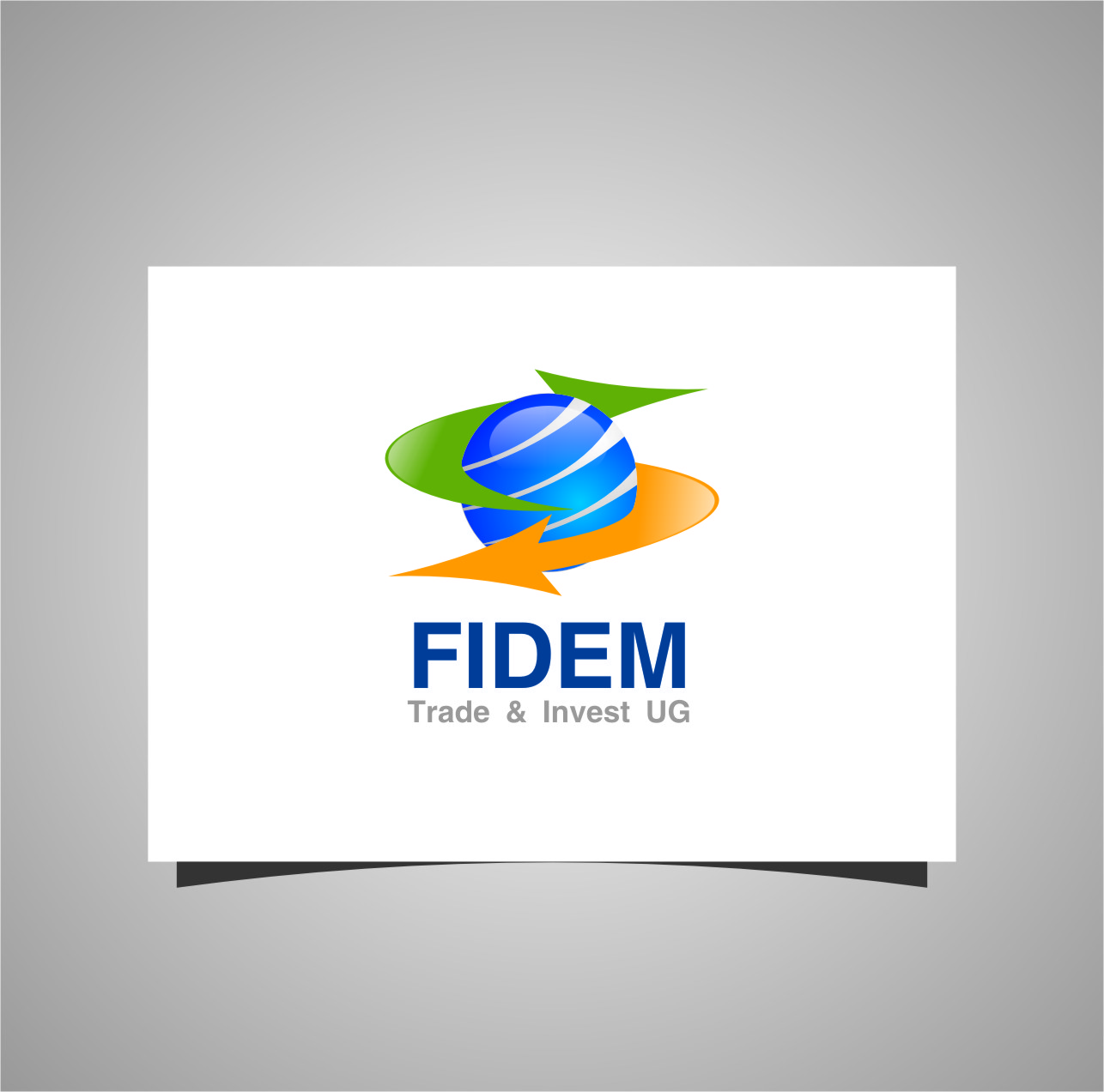 Logo Design by RasYa Muhammad Athaya - Entry No. 16 in the Logo Design Contest Professional Logo Design for FIDEM Trade & Invest UG.