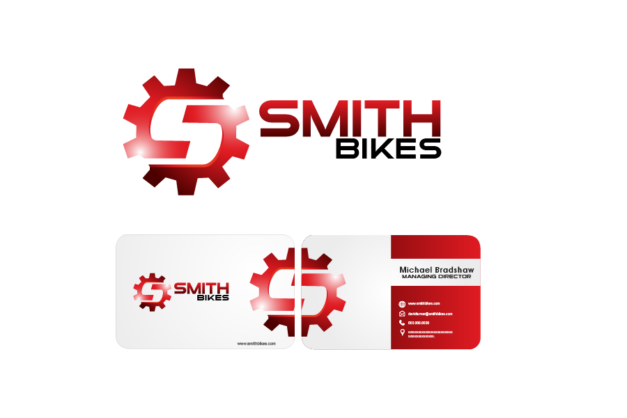 Logo Design by Private User - Entry No. 15 in the Logo Design Contest Fun Logo Design for SMITH BIKES.