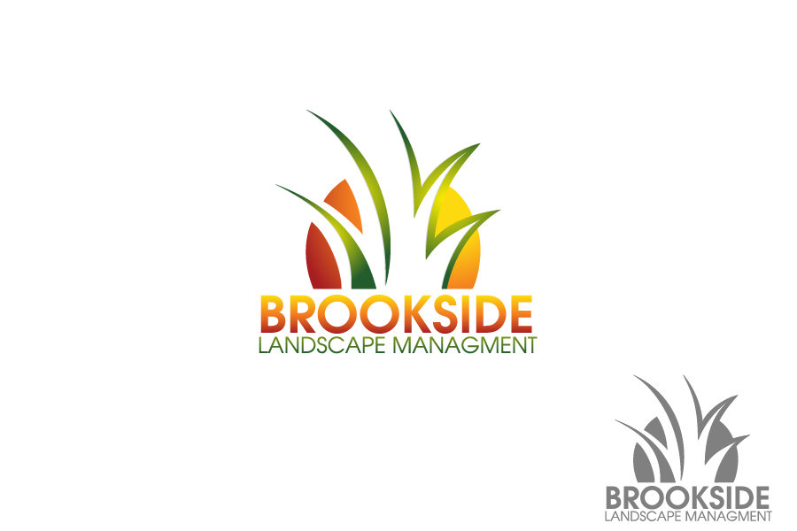 Logo Design by Private User - Entry No. 3 in the Logo Design Contest New Logo Design for Brookside Landscape Management.