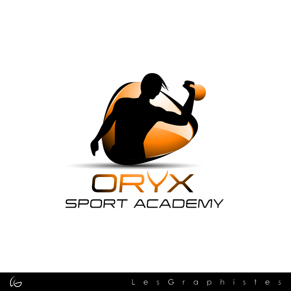 Logo Design by Les-Graphistes - Entry No. 94 in the Logo Design Contest New Logo Design for Oryx Sports Academy.