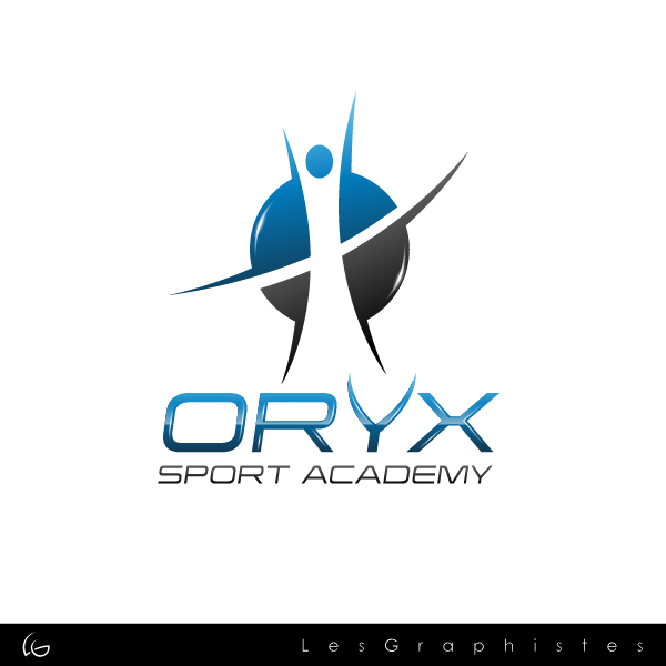 Logo Design by Les-Graphistes - Entry No. 97 in the Logo Design Contest New Logo Design for Oryx Sports Academy.