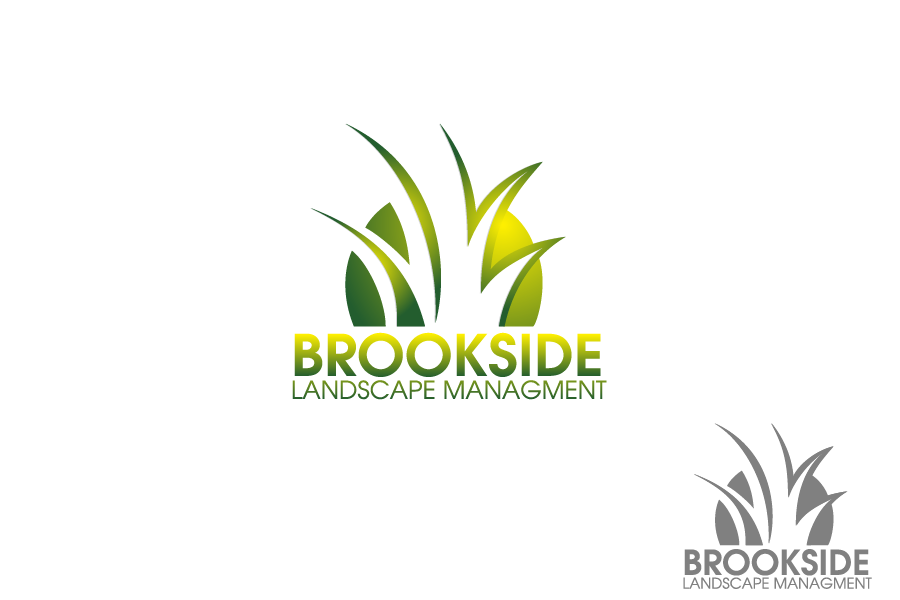 Logo Design by Private User - Entry No. 4 in the Logo Design Contest New Logo Design for Brookside Landscape Management.