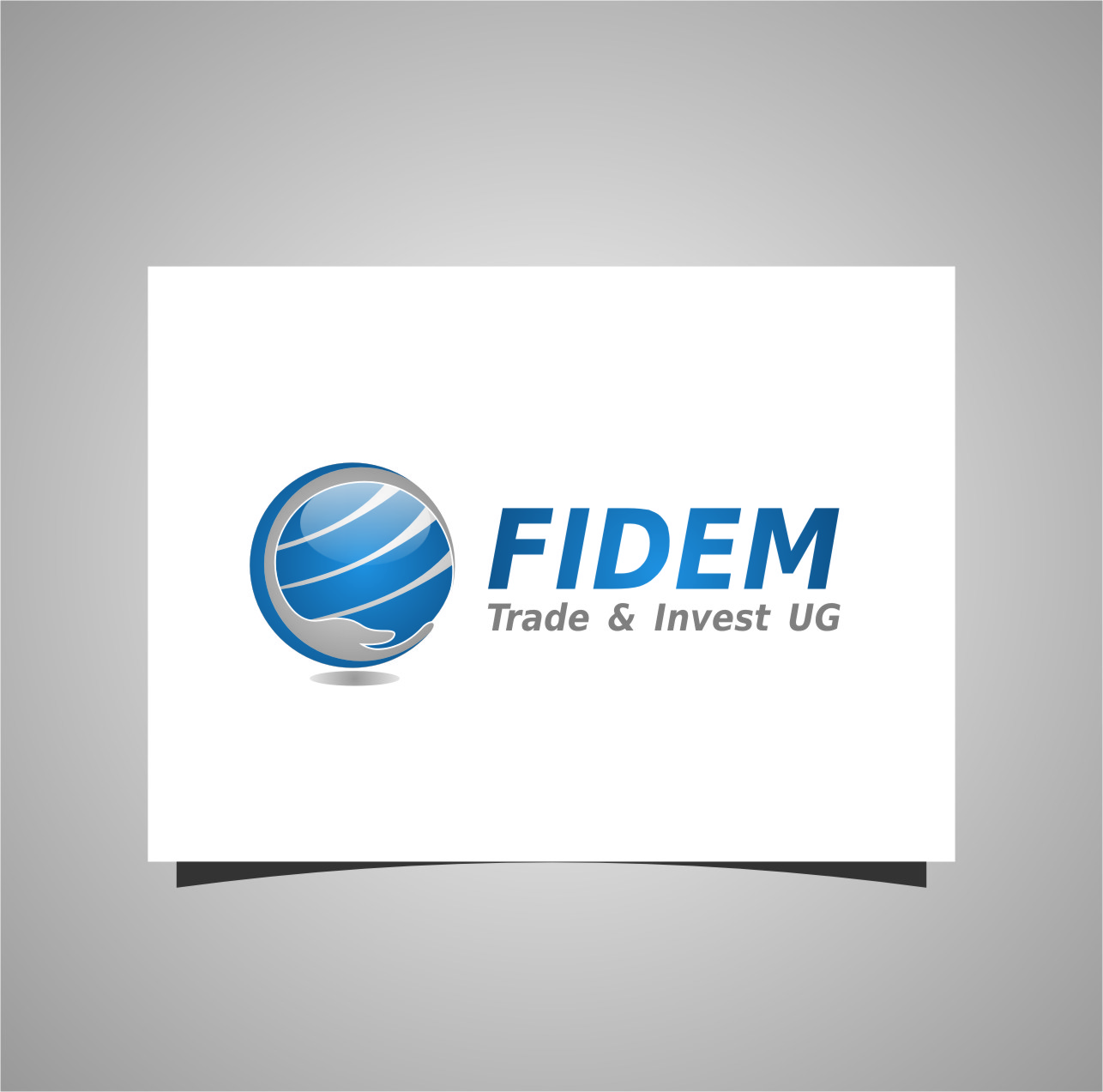 Logo Design by RasYa Muhammad Athaya - Entry No. 37 in the Logo Design Contest Professional Logo Design for FIDEM Trade & Invest UG.