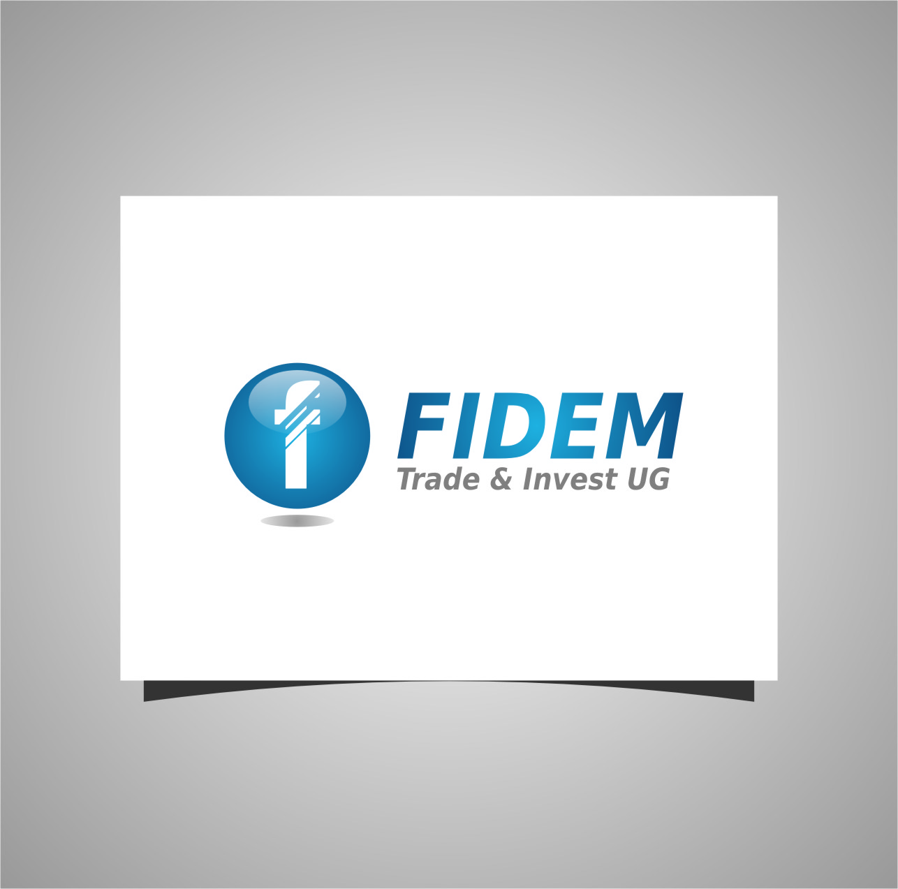 Logo Design by RasYa Muhammad Athaya - Entry No. 40 in the Logo Design Contest Professional Logo Design for FIDEM Trade & Invest UG.