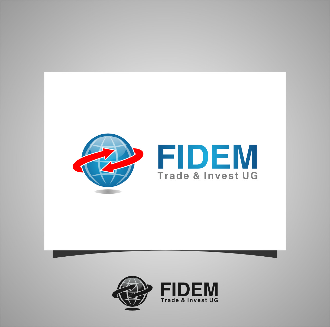 Logo Design by RasYa Muhammad Athaya - Entry No. 54 in the Logo Design Contest Professional Logo Design for FIDEM Trade & Invest UG.