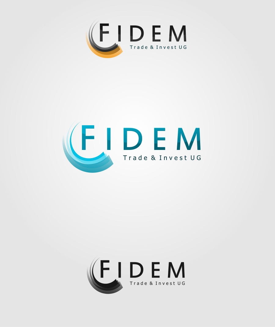 Logo Design by Private User - Entry No. 55 in the Logo Design Contest Professional Logo Design for FIDEM Trade & Invest UG.